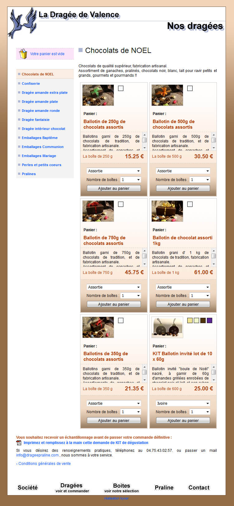 a8af63bcab0 Drageepraline.com - Etude de cas Refonte boutique en ligne