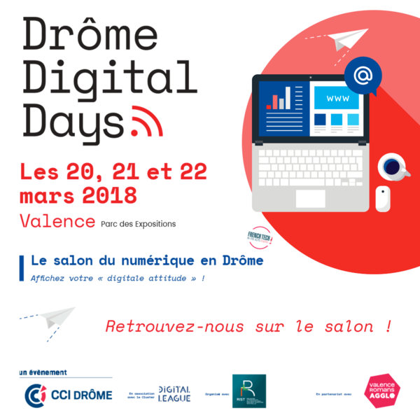 Actus métier internet : Salon Drome Digital Day 2018