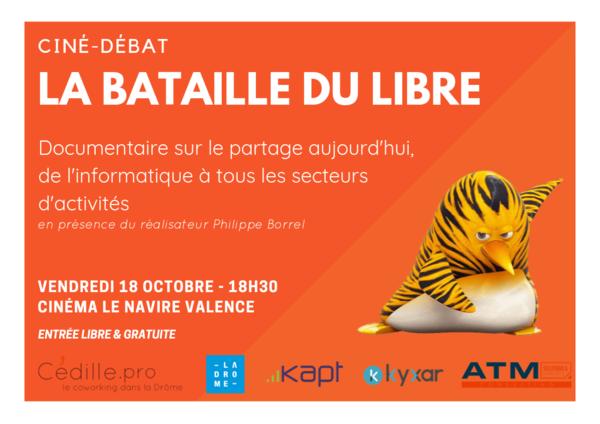 Actus métier internet : Soirée Ciné-Debat sur le libre