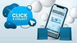 Le Click&Collect Une nouvelle façon de faire ses courses, qui a le vent en poupe... et p...