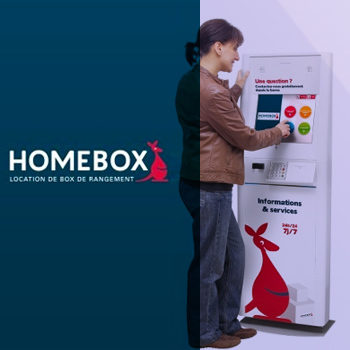 Borne multimédia Homebox